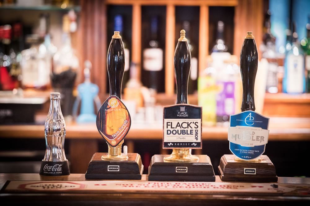 The Burley Inn offers a range of drinks from fabulous local breweries